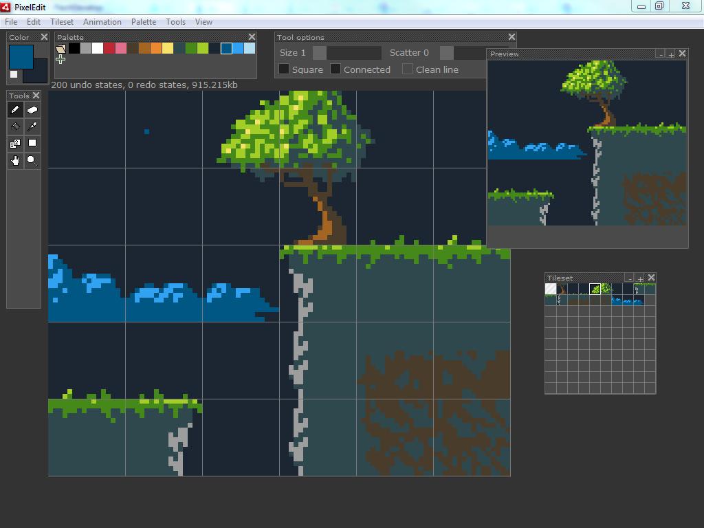 Unnamed pixel editor » Danik's Blog